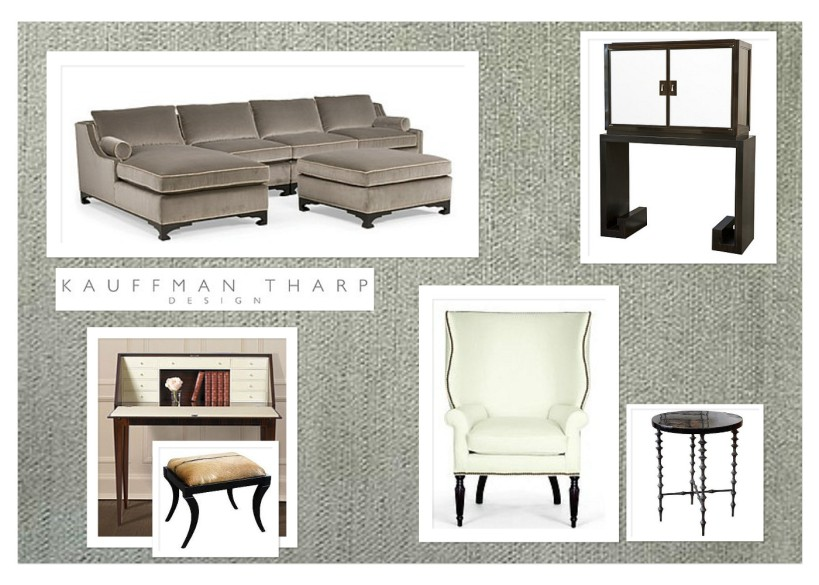 LB Living Room Key Furniture by lisa kauffman tharp